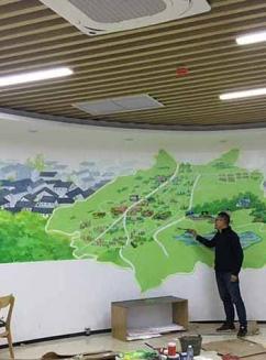 广州,最美大源手绘