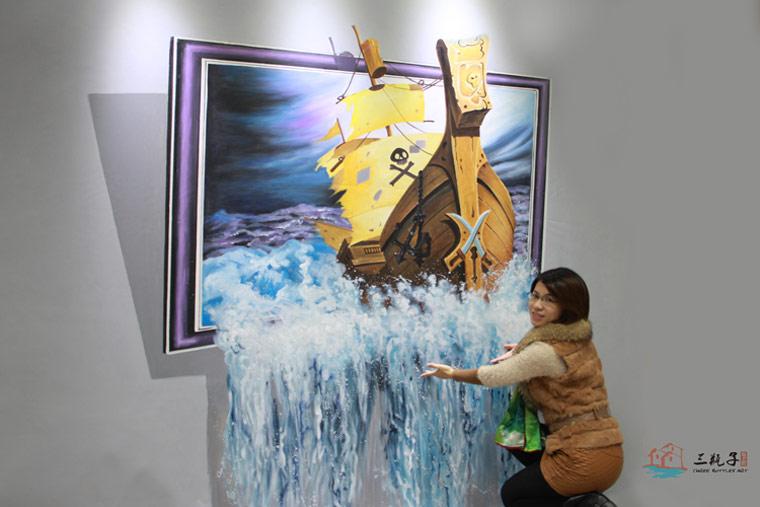 2013年福建泉州3D画展