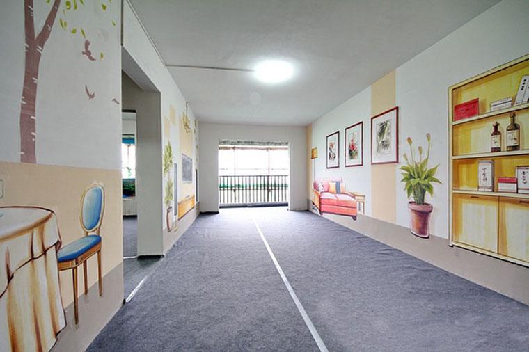 碧桂园样板房  墙绘彩绘