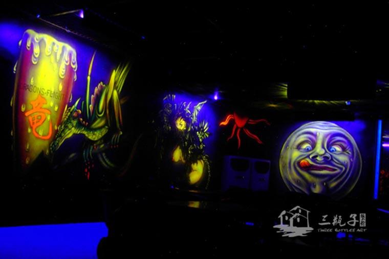 佛山 魔幻人物  墙绘彩绘