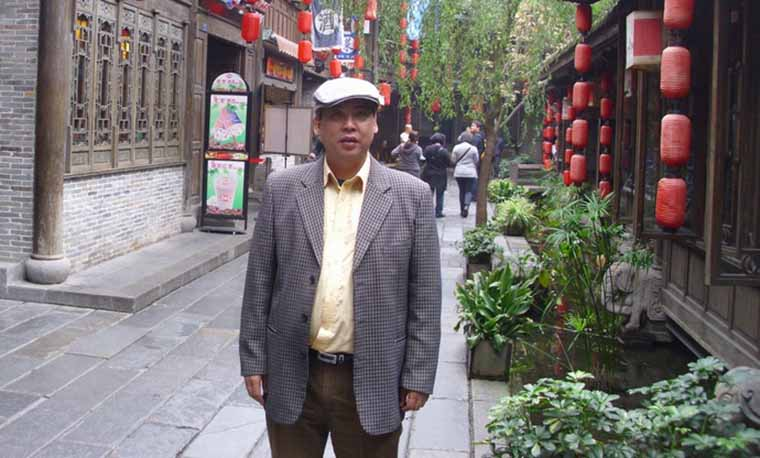 花鸟牡丹画家 林浩锦