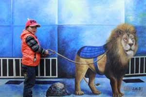 2013年扬州3D画展