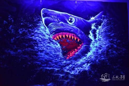 动物世界  墙绘彩绘