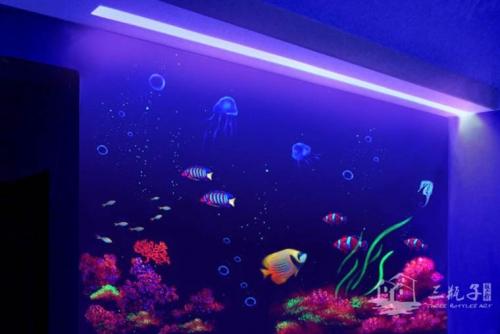 海底世界  墙绘彩绘
