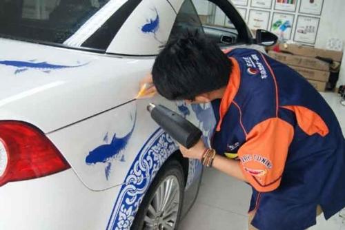 郑州大众EOS 车身彩绘
