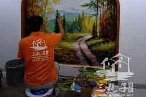 佛山和慕会所3 墙绘彩绘