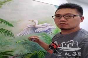 佛山和慕会所2墙绘彩绘