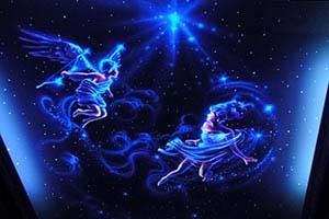 星空漫画  墙绘彩绘