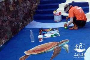 2016年雅居乐清水湾 墙绘彩绘