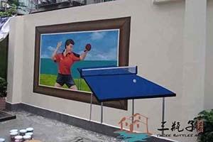 湛江27中体育3D画 2