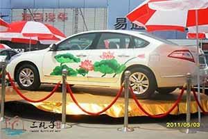 东风日产车体彩绘