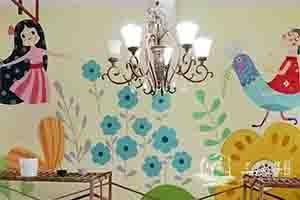 云浮艺鸣幼儿园墙绘彩绘