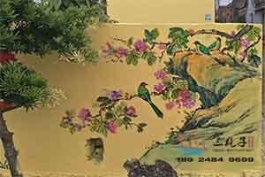湛江遂溪文化墙彩绘  二